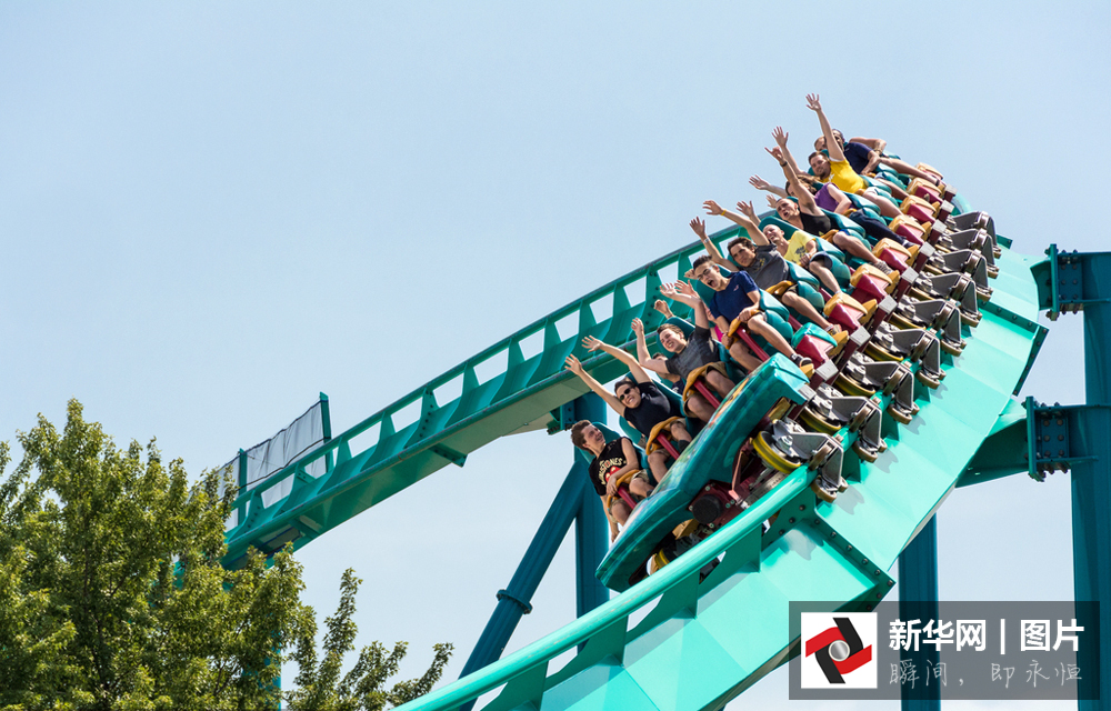 The Leviathan one of the biggest and tallest roller coasters