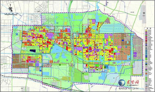 东营市城市总体规划 2011 2020年